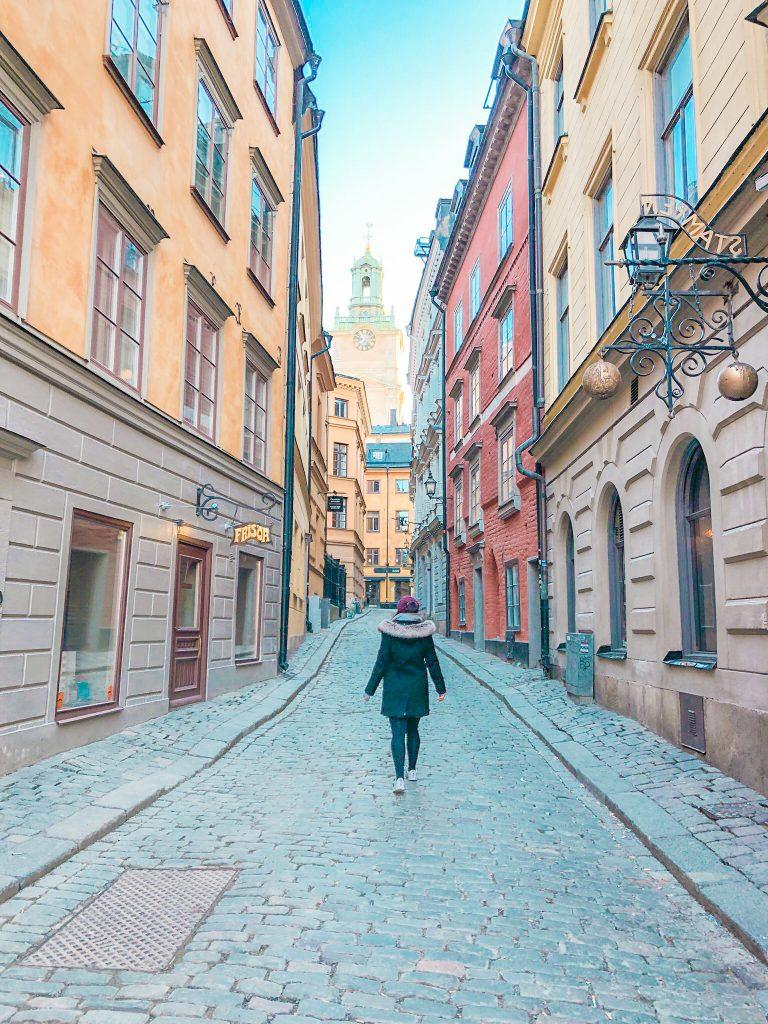 stockholm gamla stan - old town